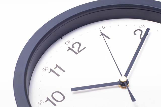 時間は有限です!